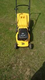 JCB petrol push Lawnmower(serviced)