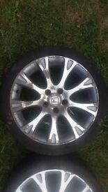 Honda Accord alloy wheels 18' (2.2 itdci 2007)