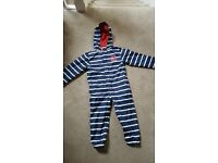 Mothercare striped all in one rain coat