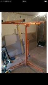 Plasterboard lift / hoist