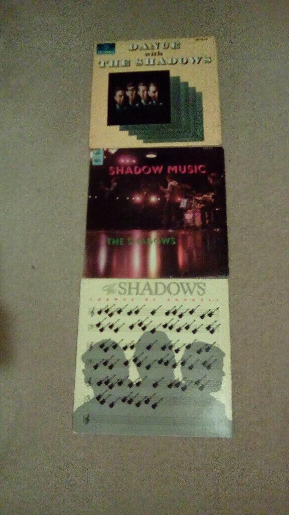 THE SHADOWS-3 X 12.INCH VINYL LP'S-EX