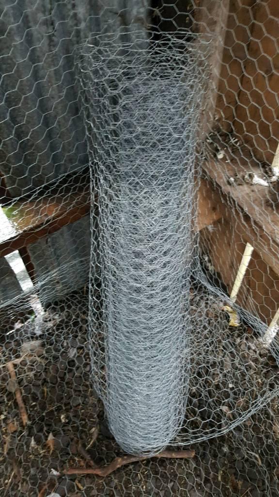 25mm chicken wire. Approx 40 metres | in Enniskillen, County ...