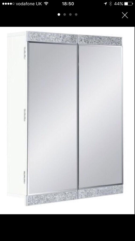 Bn Next Sparkle Double Bathroom Cabinet In Morley West