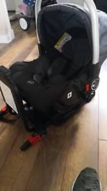 VIB Baby car seat and Isofix base
