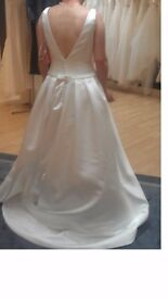 Brand new with tags: long A-line wedding dress