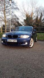 BMW 118D M SPORT BLUE.£30 ROAD TAX.12 MONTHS MOT