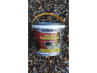 "Brand new, still in its tub, ronseal fence / shed ""paint"" normally £10"