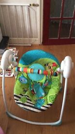 Baby walker and swing chair