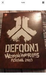 DEFQON 1 / QLIMAX DVD CD PACKS