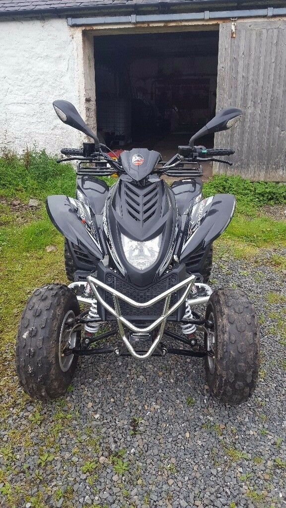 Quadzilla 290cc (road legal)