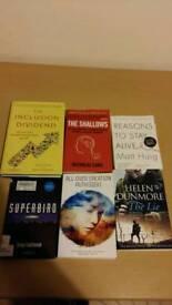 Books x6