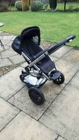 Quinny buzz pushchair & carry cot