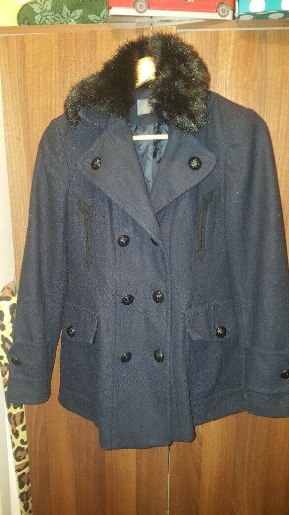 Ladies south size 14 military style jacket