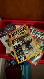 50 metal detecting magazines