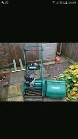 Qualcast Suffolk Punch lawn mower