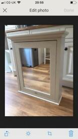Downton Abbey Traditional Bathroom Mirror Cabinet
