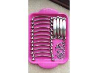 16 Brushed Nickel Kitchen cupboard door handles