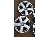 18' Audi s line wheels