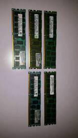 Server Ram 8gb x5