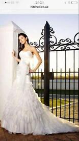 Size 12 Beautiful Essence wedding dress