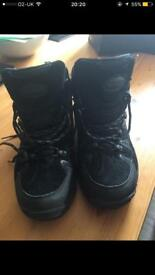 Men's Black Hiking Boots