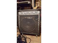 Torque T1003kr 150 watt 3 channel Keyboard and Guitar amplifier.