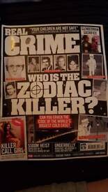 21 x Real Crime magazines