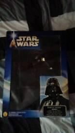 Kids Darth Vader Costume (Cape, Helmet and Bodysuit)