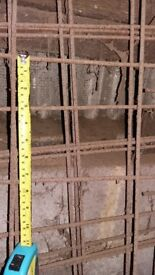 Building Materials: Reinforced Steel Mesh sheets for concrete