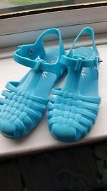 Girls Jelly Shoes Size 10
