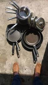 COOKWARE. Pots and pans