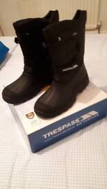 Unisex Adults Snow Boots size 10