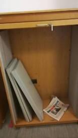 Storage cabinets (2)