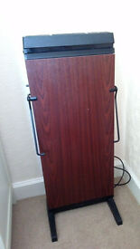 TROUSER PRESS CORBY 3300 MAHOGANY GOOD CONDITION
