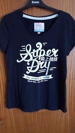 Superdry L ladies tshirt