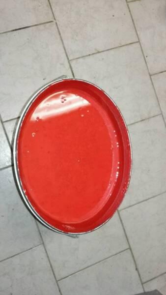 fassaden farbe rot in sachsen delitzsch heimwerken heimwerkerbedarf gebraucht kaufen ebay. Black Bedroom Furniture Sets. Home Design Ideas