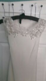 Designer wedding dress never worn