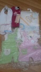 New Born Girls Baby Clothes Bundle