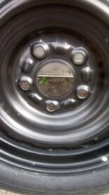 Spare Wheel with brand new tyre - 205/60R16. £120