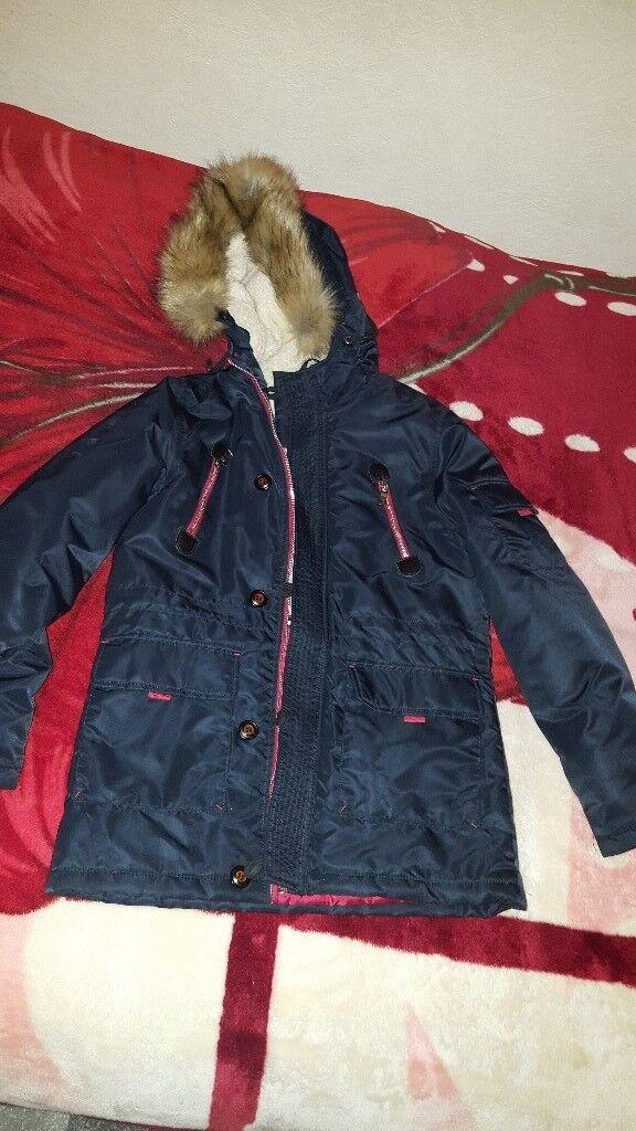Boys Winter Coat size 13-14Y