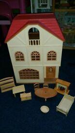 Sylvanian Family Cedar Terrace Town House