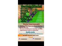 Garden Cleaning and any other Home Improvement Works