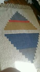 Brand new Woven Indian rug