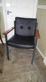 Midcentury retro office chair