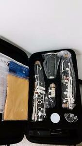 Adagio JTC 100 Nickel Plated Premium Clarinet Bundle - BRAND NEW - $125 FREE SHIPPING (MSRP $599)