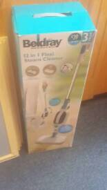 Steam cleaner in box
