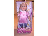 Zapf Creations Sally doll still in box unused