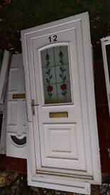 used upvc door 910 or 930 w x 2025 high hinged on right