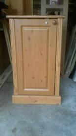 Large pine cupboard