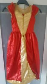 Disney belle reversible dress 7-8